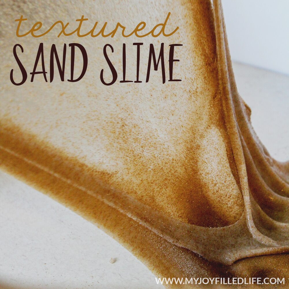 Textured Sand Slime
